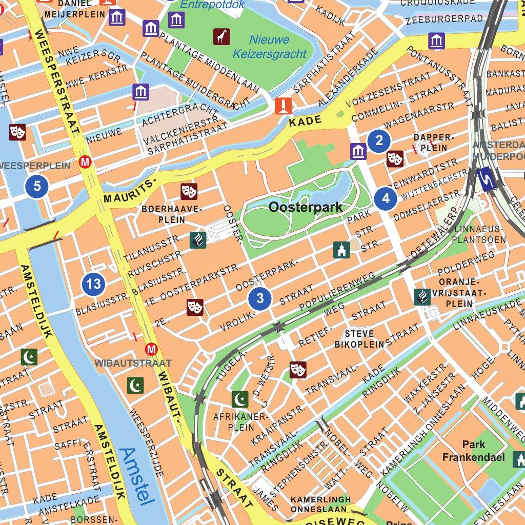 Amsterdam Digital City Map 12 Provincien Avenza Maps