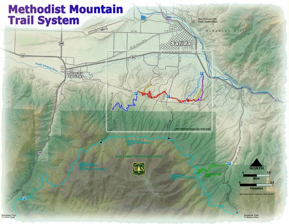 Methodist Mountain Trail System Overview