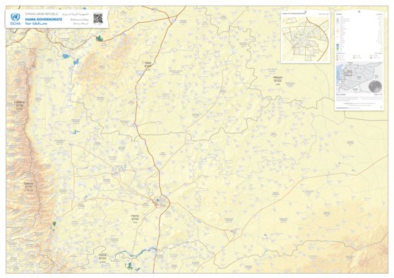 Hama governorate reference map - UN OCHA Regional office for the ...