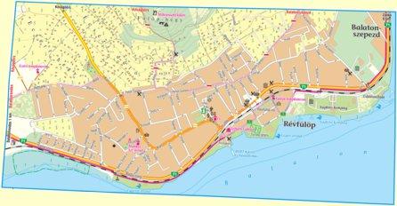 Revfulop City Map Varosterkep Szarvas Andras Private