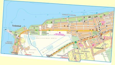 Zamardi Szantod City Map Varosterkep Szarvas Andras Private