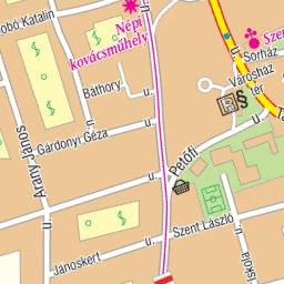 Balatonlelle City Map Varosterkep Szarvas Andras Private