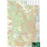 Budai-hegység, Iharos, Kamaraerdő, Tétényi-fennsík  turista-biciklis térkép