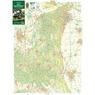 Szekszárdi-dombság, Geresdi-dombság  turista, biciklis térkép, Tourist & Biking Map;