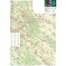 Gödöllői-dombság turista-biciklis térkép, tourist-biking map,