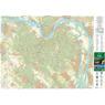 Pilis, Visegrádi-hegység turista-, biciklis térkép, tourist-biking map