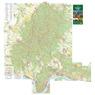 Börzsöny turista-biciklis térkép,  Tourist & Biking Map