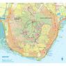 Badacsony  turistatérkép, tourist map