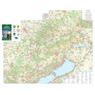 Bakony / Balaton-felvidék turista-biciklis térkép, Tourist Biking Map,