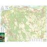 Gerecse turista-biciklis térkép,  tourist, biking map