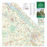 Szigetköz, Hanság  turista, biciklis, vizisport térkép (tourist, bicycle and watersports)