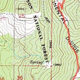 Cdt Colorado Map.Cdt Colorado Sec 07 Cochetopa Hills Jonathan Ley Avenza Maps