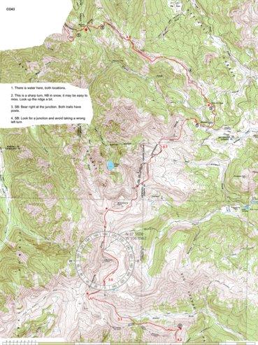 Cdt Colorado Map.Cdt Colorado Sec 09 South San Juans Jonathan Ley Avenza Maps