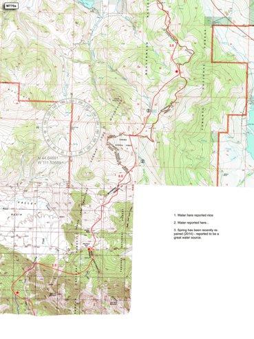 CDT Montana Sec 11 - Centennial Mountains - Jonathan Ley - Avenza Maps