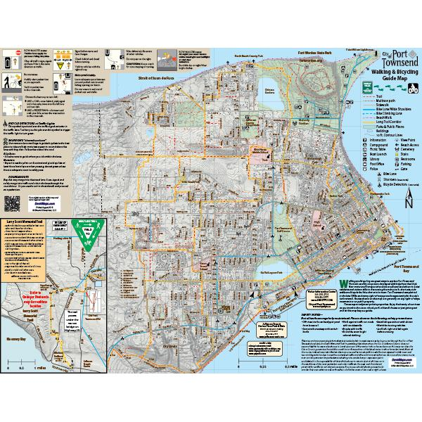 City of Port Townsend and Quimper Peninsula Walking and Bicycling Guide Maps