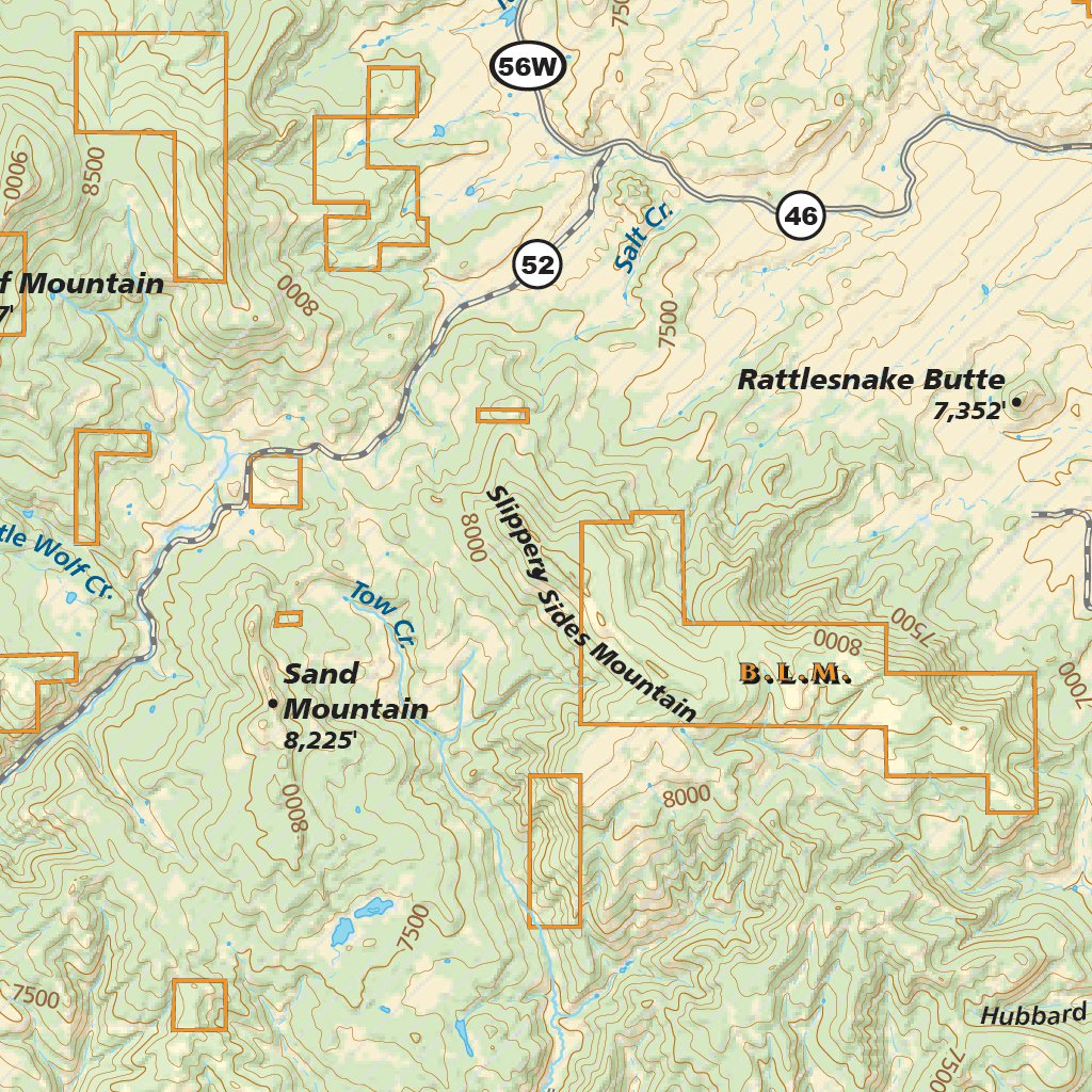 Steamboat Springs, Colorado Area Map - Adventure Maps, Inc. - Avenza ...