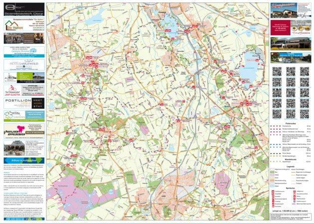 Arthuur fietsroutes Kop van Drenthe