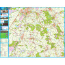 Arthuur fietsknooppuntenkaart Drenthe route App