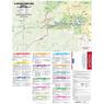 Trail Map #3, North Cheyenne Canon Area, Pikes Peak Region Series