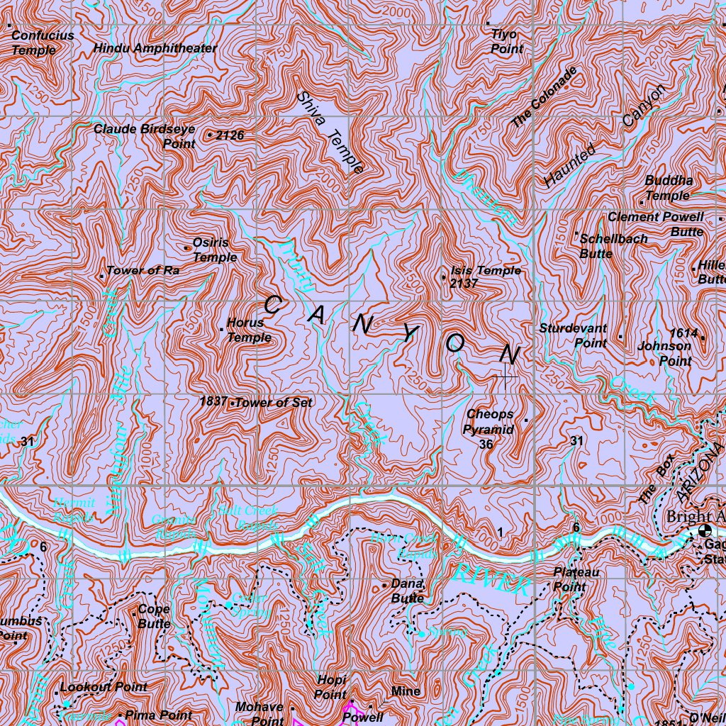 Map Of Arizona Strip.Arizona Strip Visitor Map Bundle Bureau Of Land Management
