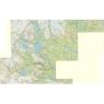 Fjällkartan Vålådalen Sösjöfjällen