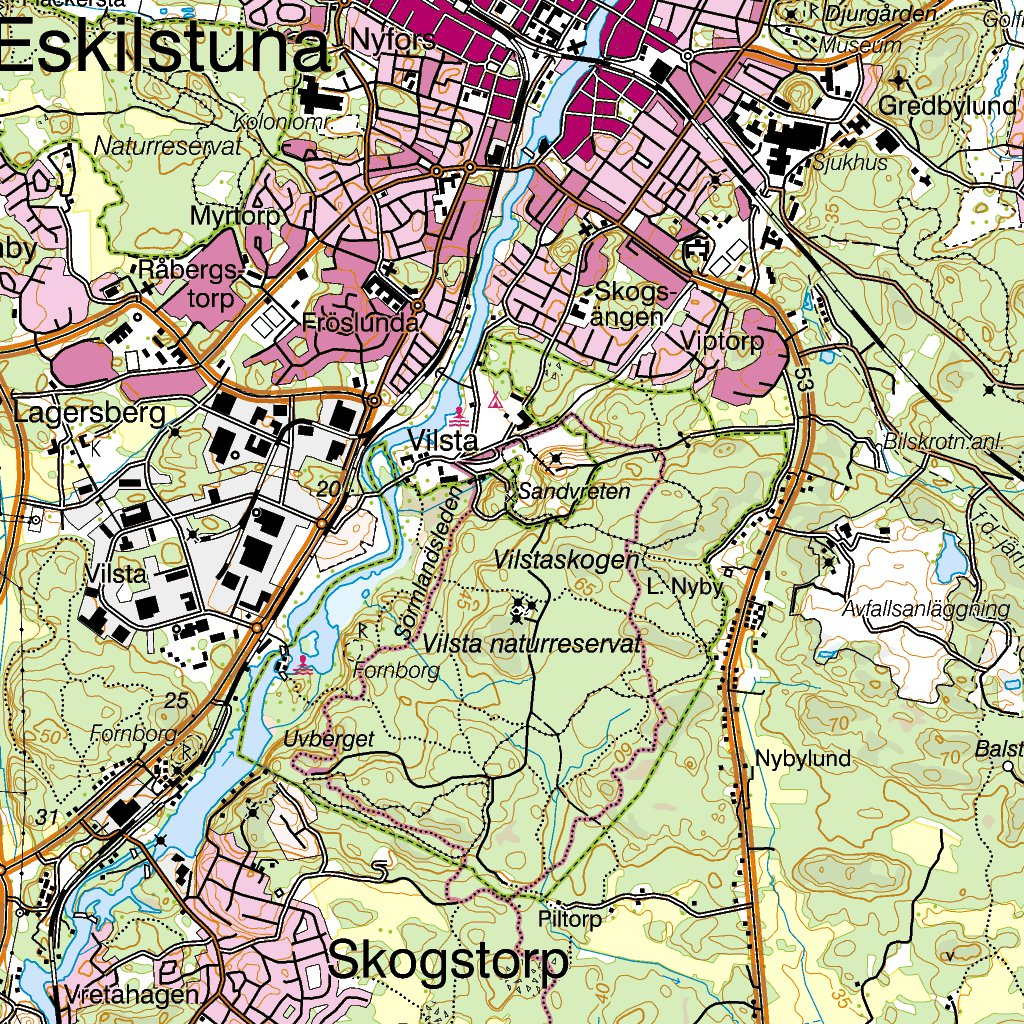 Terrngkartan rebro Vsters Ludvika Solteknik HB Avenza Maps
