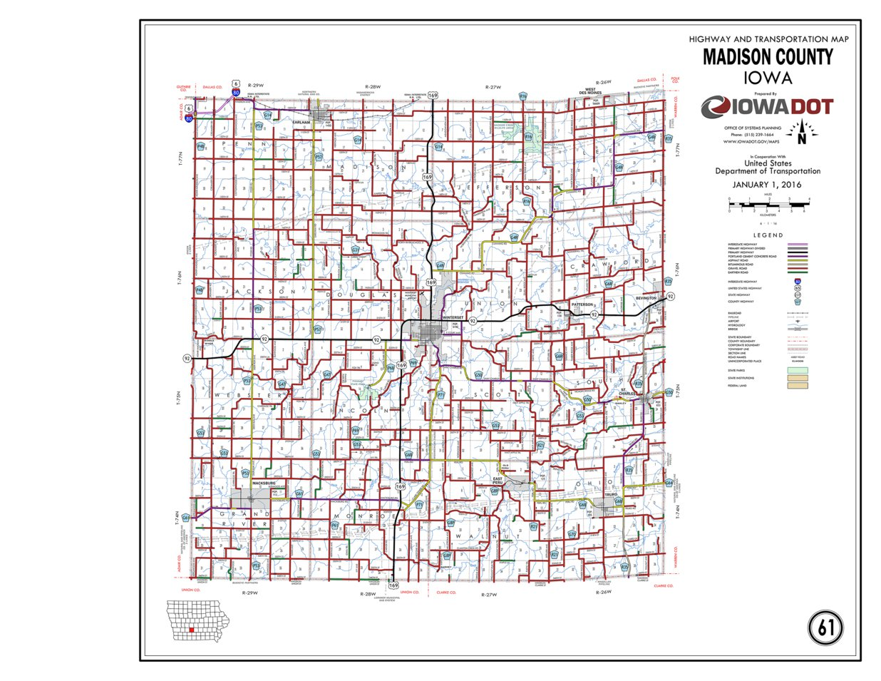 map of madison county iowa Madison County Iowa Iowa Department Of Transportation Avenza Maps map of madison county iowa