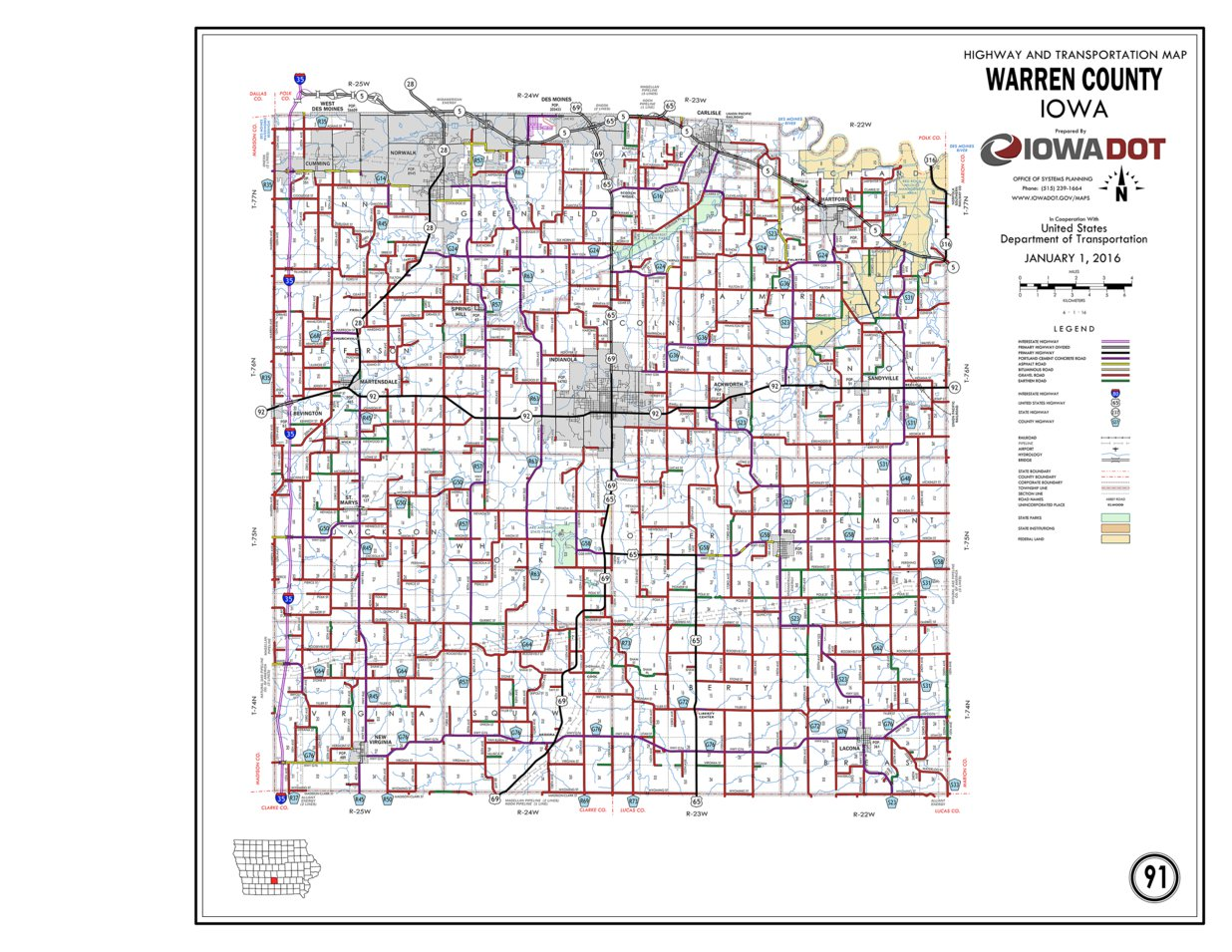 Warren County, Iowa - Iowa Department of Transportation ... on map of west carrollton, map of petros, map pa county, map of oneida, map of worthington state forest, map of cook forest state park, map of clive, map of city of niagara falls, map of upper bucks, map of rock island state park, map of new carlisle, map of middleburg heights, map of clarion, map maine county, map of ebensburg, map of piketon, map of hazlehurst, new jersey warren county, map of axtell, map of windsor heights,