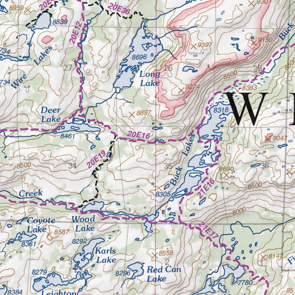 Emigrant Wilderness - US Forest Service R5 - Avenza Maps