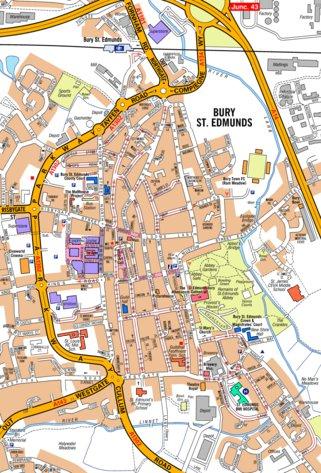 AZ Bury St Edmunds Geographers AZ Map Company Avenza Maps