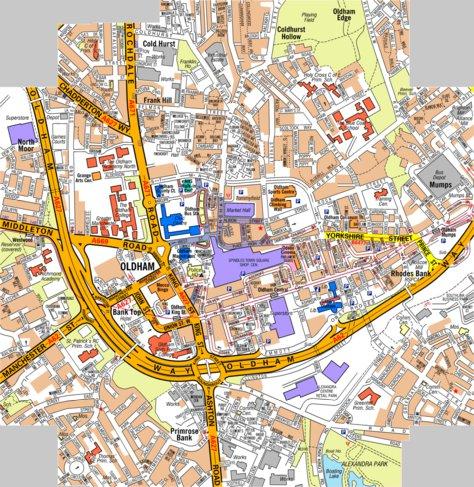 AZ Oldham Geographers AZ Map Company Avenza Maps