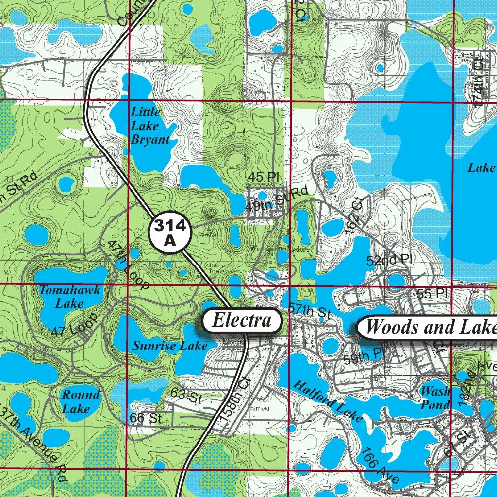 Oklawaha River Florida - Kingfisher Maps, Inc. - Avenza Maps