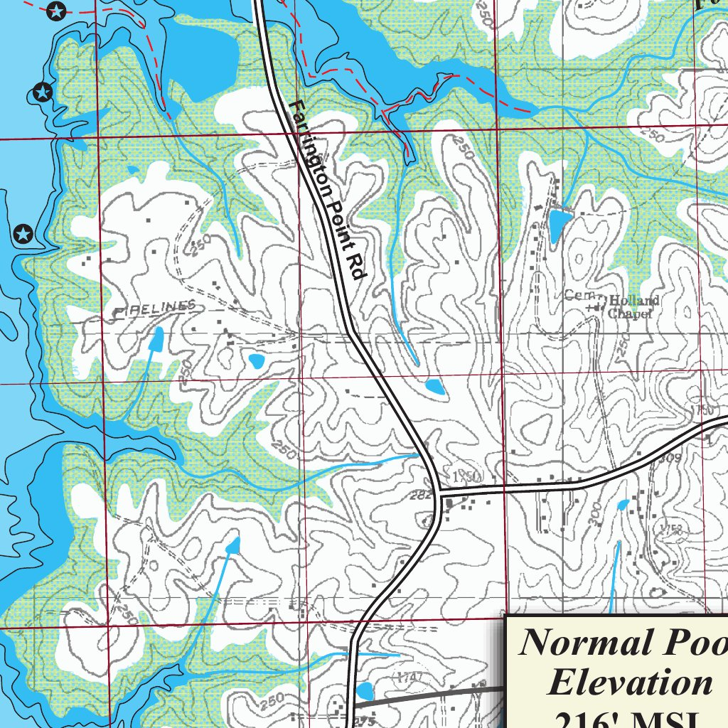 B Everett Jordan Lake North Carolina 1202d Kingfisher Maps Inc