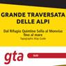 Grande Traversata delle Alpi 1:25000 #3 from Monviso Park to Ventimiglia