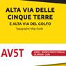 Cinque Terre high path - Gulf of Poets high path 1:25000
