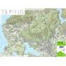 Lago di Varese hiking map 1:25000 n.304