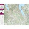Colline del Boca hiking map 1:25000 n.18
