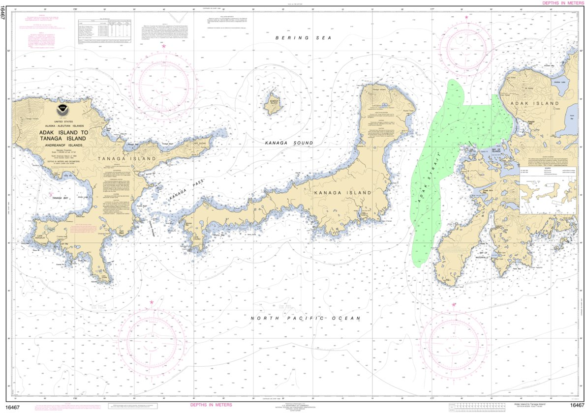 Adak Island To Tanaga Island National Oceanographic Atmospheric