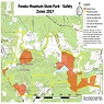 Panola Mountain Safety Zone Map2017