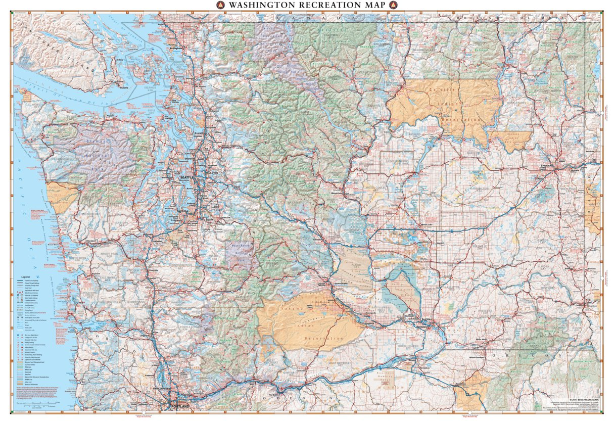 Washington Recreation Map - Benchmark Maps - Avenza Maps on washington geography map, chichagof island alaska map, washington land features, washington forest fire map, washington agriculture map, washington map potholes, washington county map, mossyrock washington map, washington game management unit map, hunter washington map, washington lighthouse map, washington wine regions map, washington national forest map, george mason university campus map, washington idaho-montana map, washington game unit 175 map, washington gas map, washington state, wa elk hunting areas map, washington on a map,