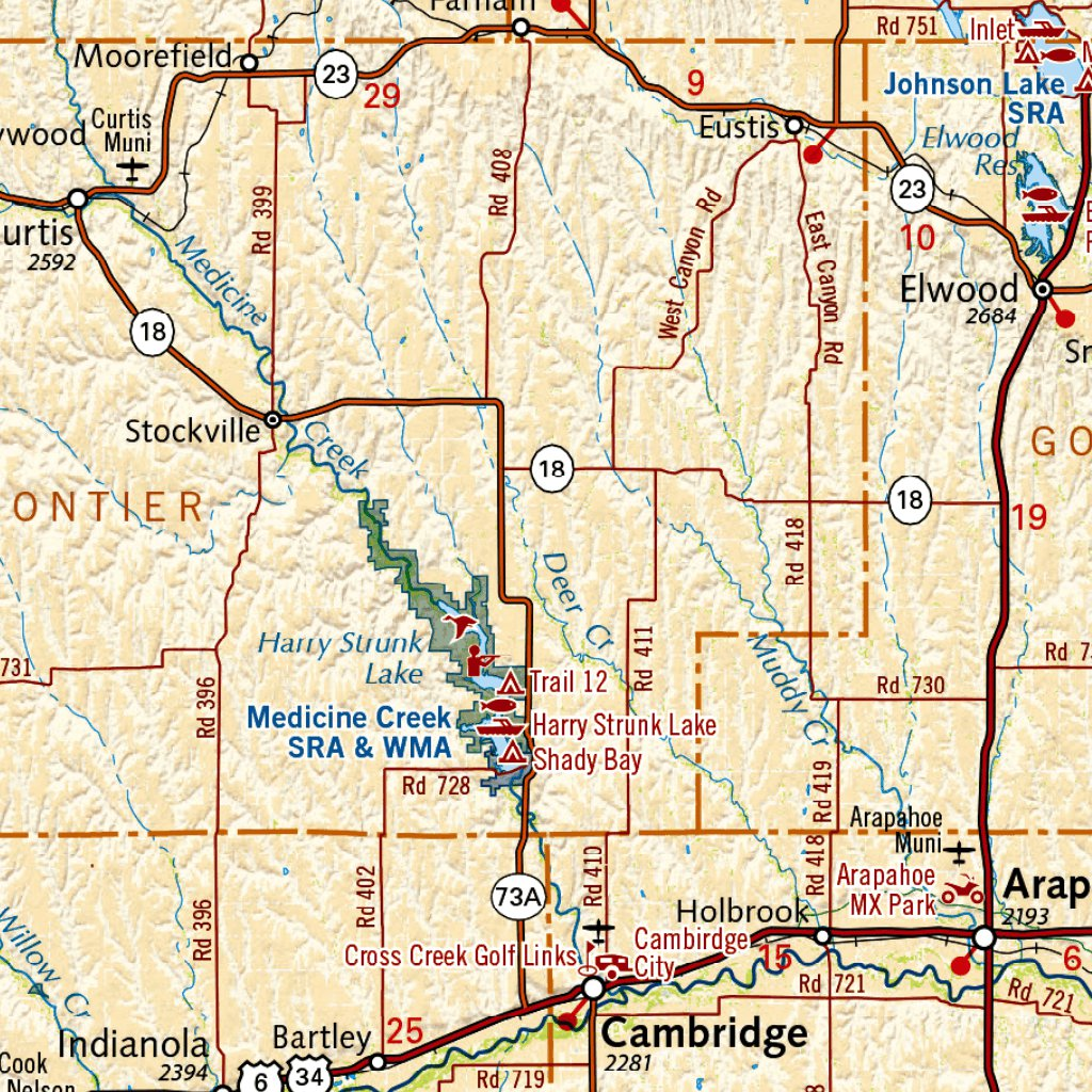 Nebraska Solar Eclipse 2017 Map Benchmark Maps Avenza Maps