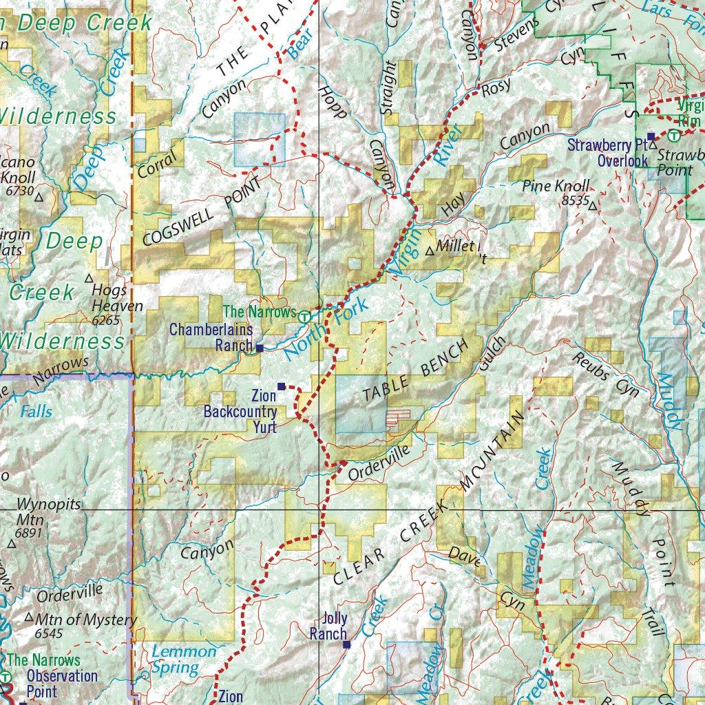 Utah Atlas Southern Landscape Maps Benchmark Maps Avenza Maps