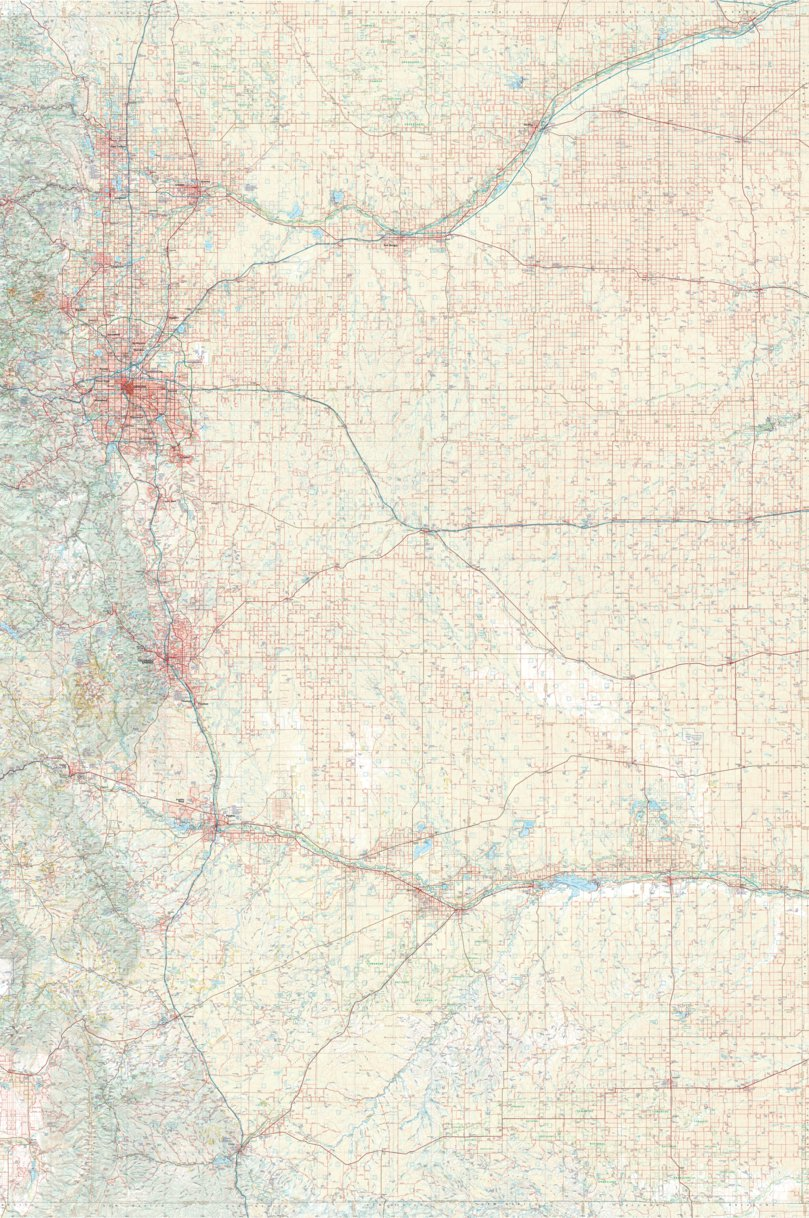 Colorado Atlas Eastern Landscape Maps - Benchmark Maps - Avenza Maps