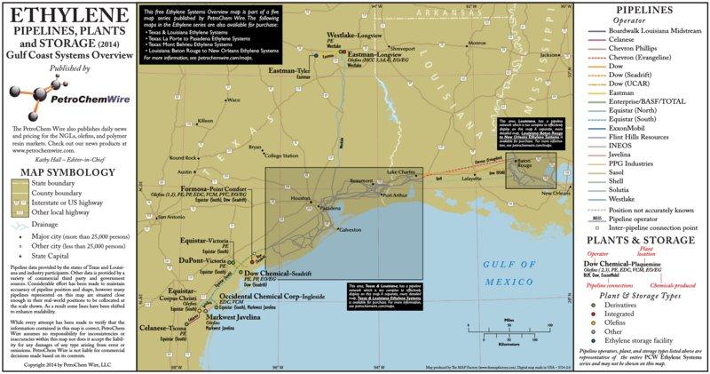 E1 Gulf Coast Ethylene Systems Overview - PetroChem Wire
