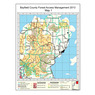 Bayfield County Forestry Access Management - Map 1