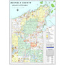 Road Network - Bayfield County, WI - 2020