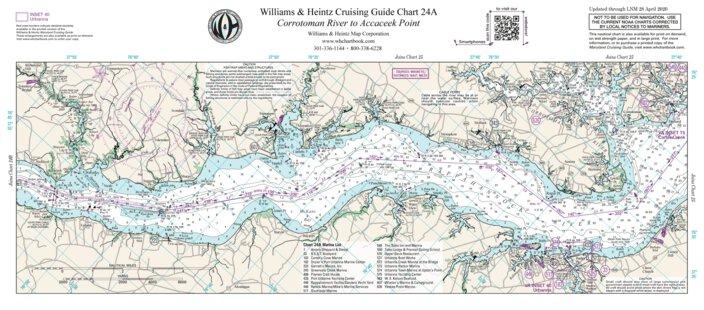 Rappahannock River Corrotoman River To Accaceek Point Williams Heintz Map Corporation Avenza Maps