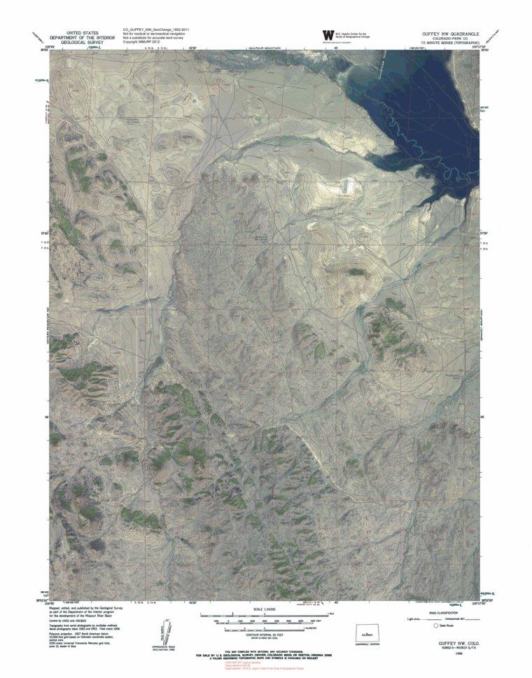 Nw Colorado Map.Colorado Game Management Unit 58 Bundle Western Michigan