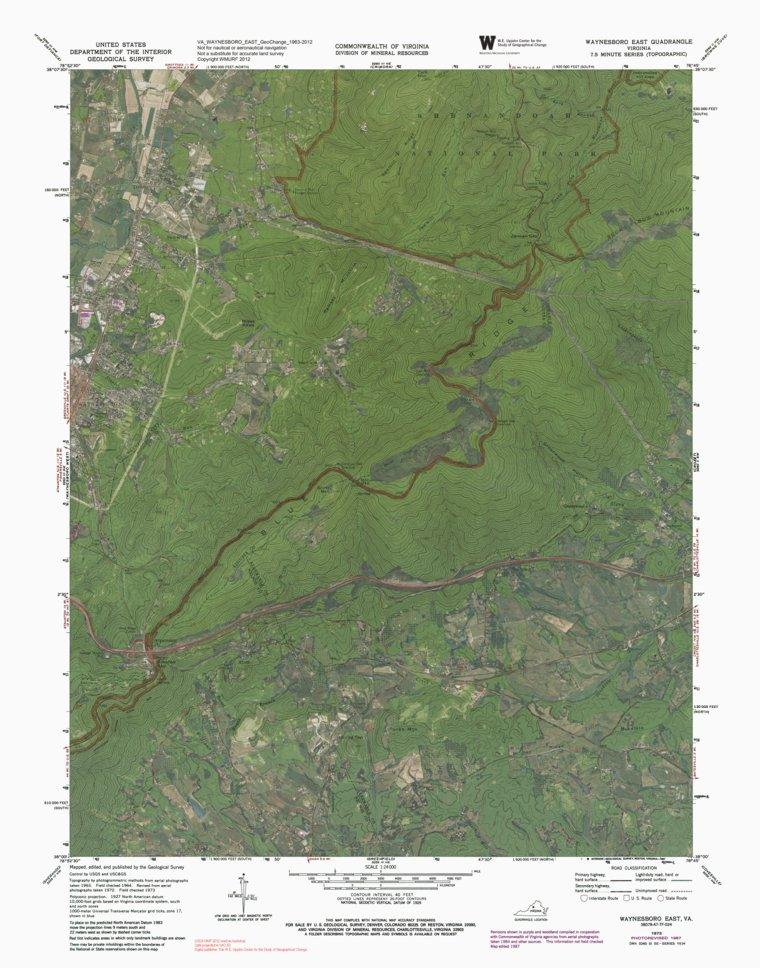 Blue Ridge National Parkway - Virginia (Bundle) - Western Michigan ...