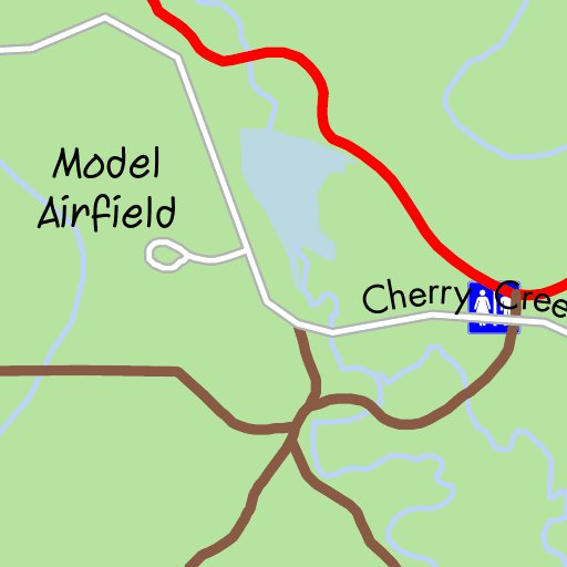 Cherry Creek State Park ColoradoBikeMapscom Avenza Maps
